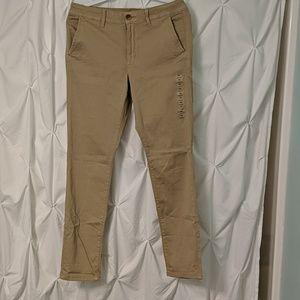 NWT American Eagle Khaki Skinny Pant